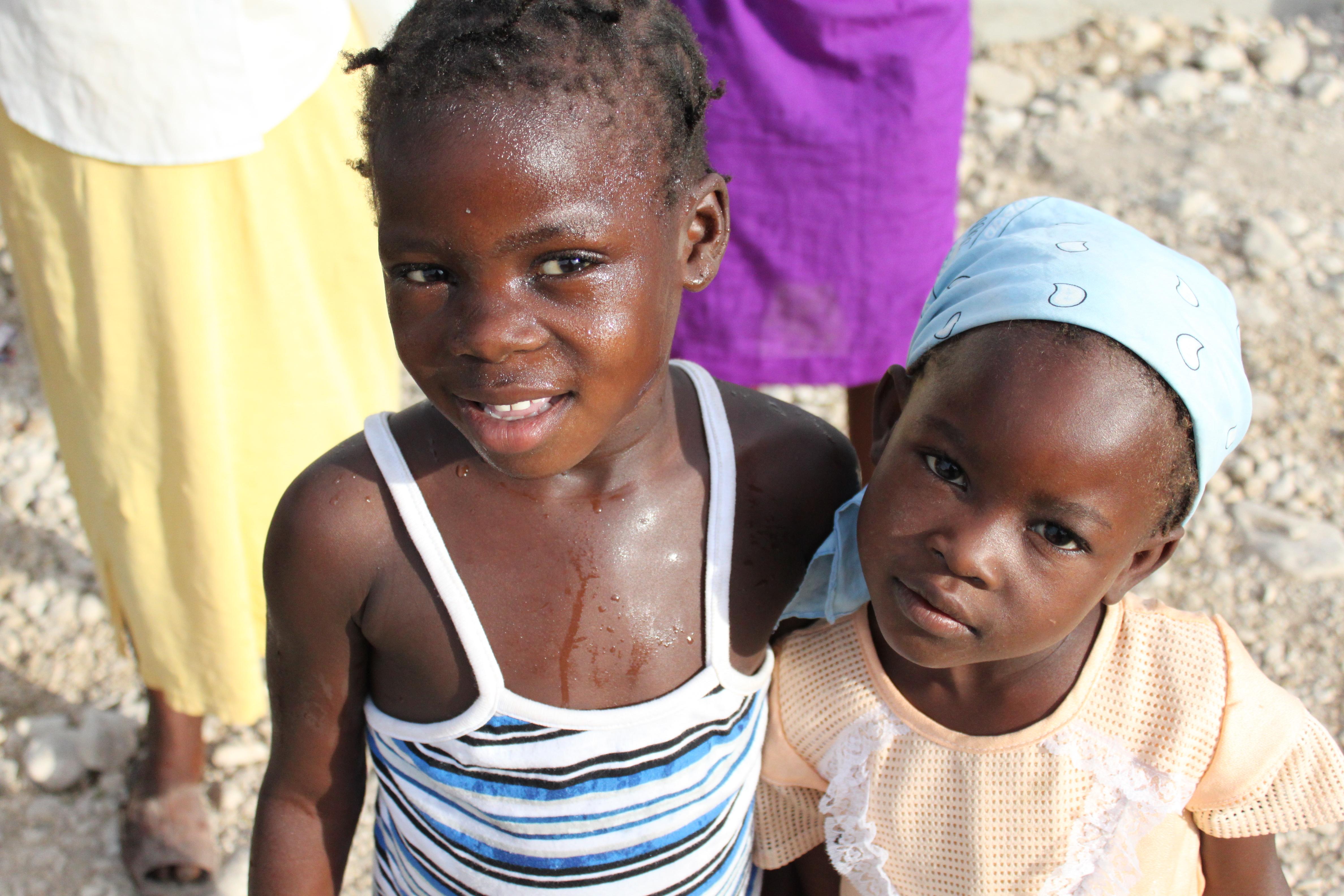 haiti haitian grace walking